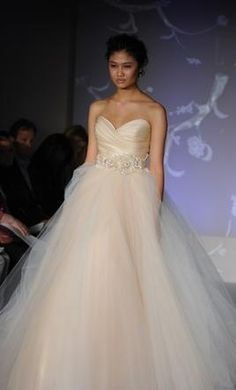 Future wedding on pinterest mermaid wedding dresses the for How much is a lazaro wedding dress