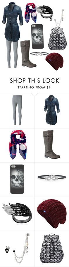 """Just cause"" by calliemay-mastin-sanders ❤ liked on Polyvore featuring T By Alexander Wang, LE3NO, Teatum Jones, Pierre Dumas, Alor, Keds, Betsey Johnson and Victoria's Secret PINK"