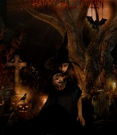 Halloween Beauty by magicsart