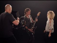 """Keith Urban's new single, """"The Fighter,"""" featuring Carrie Underwood, made its television debut on Sunday night (Feb. 12) at the 2017 Grammy Awards to rave reviews. Following the performance, the song's brand-new video was released online for a 24-hour preview, and today (Feb. 16) Keith is taking you"""