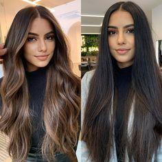 Brown Hair Balayage, Brown Blonde Hair, Hair Color Balayage, Brunette Hair, Golden Brown Hair Color, Light Brown Hair, Hair Color For Black Hair, Dark Hair With Highlights, Gorgeous Hair