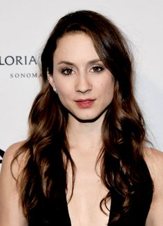 Troian Bellisario at the 2014 amfAR LA Inspiration Gala honoring Tom Ford