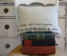 . . . without books