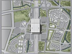 Hangzhou South Railway Station / gmp Architekten,site plan