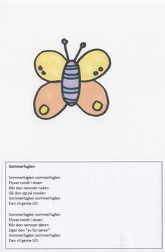 Sangbog for børn - en lille illustreret sangbog til de mindste Great Words, Singing, Education, Posters, Google, Inspiration, Biblical Inspiration, Big Words, Poster