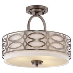 Liane Semi-Flush Mount | Joss & Main