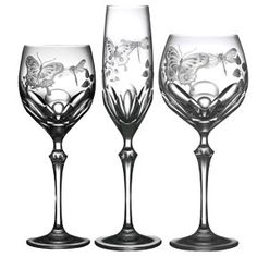 antique fluted stemware photos - Google Search