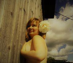Pretty girl in the village