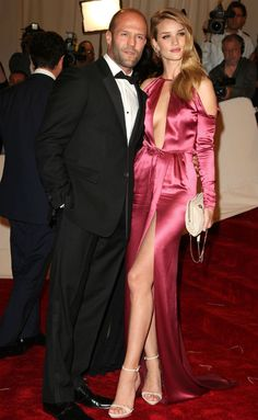 Jason Statham and Rosie Huntington Whitely