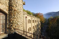 A fall morning in Montreat, NC