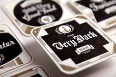 letterpress coaster