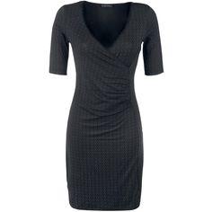 Mellemlang kjole Vive Maria  »Vinvienne Wrap« | Køb nu hos EMP | Masser af Mellemlange kjoler Rockwear  fås online ✓ Stærke priser!