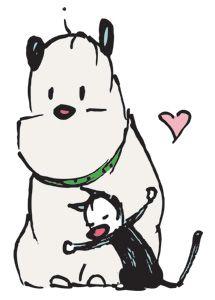 Mutts Comic - Guard Dog & Mooch