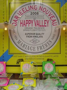 Mariage Freres Beautiful teas, sweets Perfect packaging