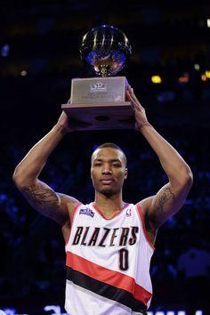 Taco Bell NBA skills challenge winner! DAMIAN LILLARD