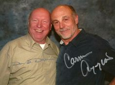 Davis and Carmen Argenziano - I miss these wonderful men. Best Sci Fi Shows, Sci Fi Tv Shows, Great Tv Shows, Star Trek Enterprise, Star Trek Voyager, Avatar Airbender, Avatar Aang, Stargate Universe, Marvel Universe