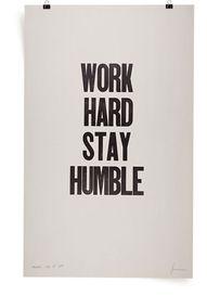 Work Hard...
