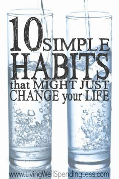 Want to be happier, healthier, and more successful in life? Making small but positive changes to your daily routine can not only reset your patterns, but actually help your brain work more efficiently and provide the much needed boost you need to get moving in the right direction. Don't miss these ten simple daily habits that might just change your life!