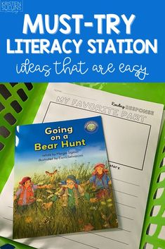 I'm sharing one of my best literacy station hacks that you can use for your kindergarten, 1st grade, or 2nd grade students! Reading Stations, Literacy Stations, Grade 1, First Grade, Reading Comprehension, Curriculum, I Am Awesome, Kindergarten, Student