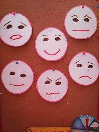 Αποτέλεσμα εικόνας για μάσκες συναισθημάτων νηπιαγωγείο