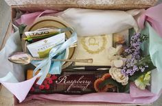 afternoon tea in a box for Mother's Day