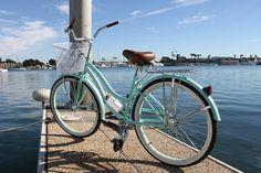 Mint Green Beach cruiser  VeniceBeachBicycles.com