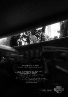 Second World War | Harley Davidson Second World War Ad Campaign  | Award-winning Press Advertising Campaigns | D&AD