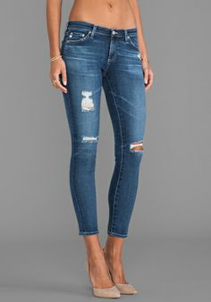 perfect lightly distressed jeans