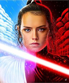 Star Wars is an American epic space opera franchise, created by George Lucas and centered around a film series that began with the eponymous Rey Star Wars, Star Wars Art, Star Trek, Images Star Wars, Star Wars Girls, Graphic Design Print, Obi Wan, Sci Fi Fantasy, Fantasy Women