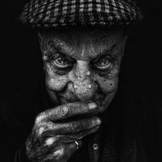 Lee Jeffries tells such powerful, provocative, soul-wrenching stories through his lens.  He creates a amplified medium for transporting a cliché to a place of profound context.  This was the first of Jeffries' portraits I discovered, and what captivated me was the astonishing eyes of so many of his subjects, as do the storied eyes of this man.  Still yourself, then click through.  Homelessness is not faceless, and Lee Jeffries gives such a powerful voice to people without one. -- Eve.