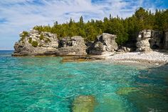 Explore Bruce Peninsula National Park, Ontario, Canada - Bucket List Dream from TripBucket . Still can't believe I got to see this beautiful place. Places Around The World, Around The Worlds, Canada Holiday, Destinations, Kayak, Canada Travel, Canada Trip, Canada Eh, Adventure Is Out There