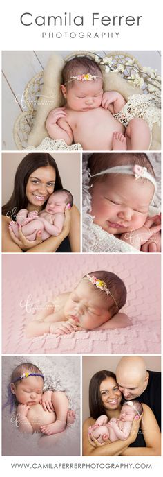 Baby girl newborn photography family photography new baby photos mommy me