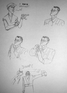TF2 Medic and Scout - Original Artist Unknown. ( Pinned by @GreyRose_ ) #Medic…
