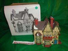 Dept. 56 Department 56 Dickens Village J.D. Nichols Fancy Dolls Building Retired find me at www.dandeepop.com #dandeepop