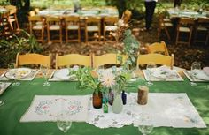Art Natural wedding tables table-decoration