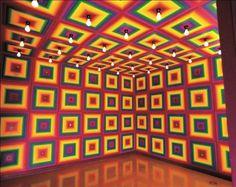 theartshelf: Ay-O Rainbow Environment No. 7 1970