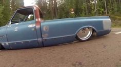 Bagged GMC C15 Porterbuilt Equipped with Accuair & LS1 Engine