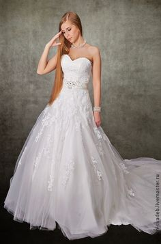 """Свадебное платье """"Маргарет"""". Handmade."""