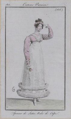 1816. Pretty pink spencer!