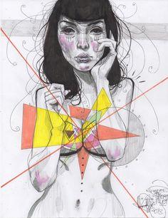 Terbywonder fashion Illustrations (5)