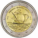 2 euro 500th annivesary of the birth of Fernão Mendes Pinto - 2011 - Series: Commemorative 2 euro coins - Portugal