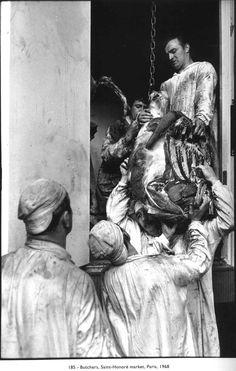Butchers, Paris, 1968 // Henri Cartier-Bresson