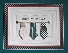 Happy Father's Day by Beverly Sue Wilson - Cards and Paper Crafts at Splitcoaststampers