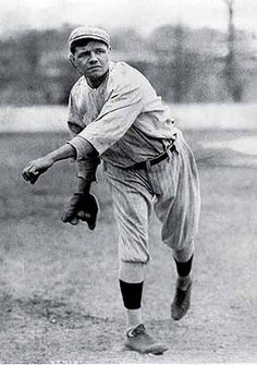 Babe Ruth was a very famous baseball player from 1914-1935. He set many records such as his 714 home runs in his 20 season career.