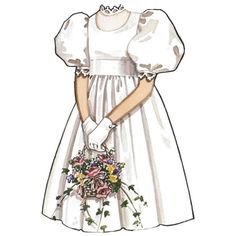 Vintage Paper Dolls Erin Fairchilde Doll C ❤ liked on Polyvore featuring dresses and filler