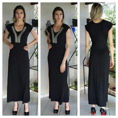 Vestido longo www.sohvestidos.com.br , despachamos para todo o Brasil ✈ ✈ Vendas também pelo wzap 061 9883 5888. Frete por conta do comprador