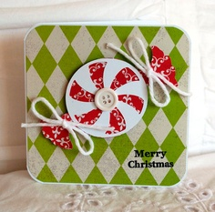 Christmas Card Greeting Card Christmas Candy by CardinalBoutique, $2.50
