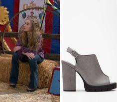 Girl Meets World: Season 2 Episode 16 Maya's Grey Peeptoe Shoes