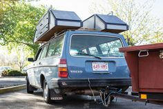 1983 Volvo 240 DL Wagon camping warrior