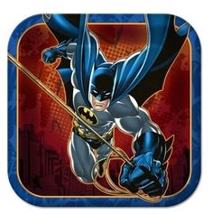 Batman Square Dessert Plates (8)